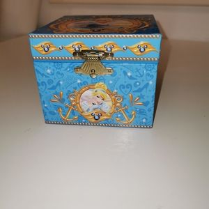 Rare Disney Cruise line Cinderella musical box